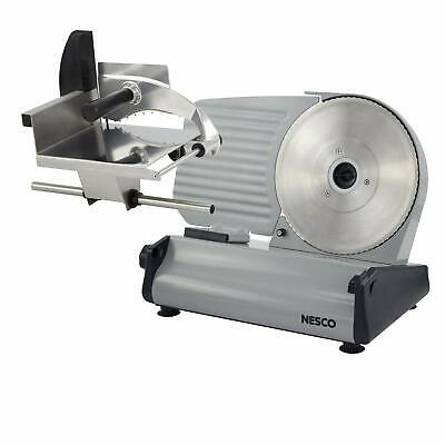 Deli Meat Slicer Electric Portable Commercial Blade Food Prep Cutter 8.5 inch On