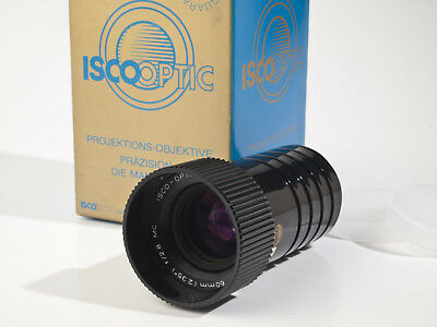 Isco Cinelux-AV MC 2.8 / 60mm wide angle Projection Lens - mint-