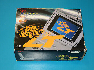 NEC PC ENGINE LT with box