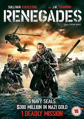 Renegades [DVD] -  The Cheap Fast Free Post BRAND NEW SEALED SUPERB TOP NOTCH A1