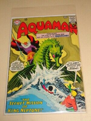 Aquaman #9 Dc Comics Neptune June 1963 Vg (4.0)*