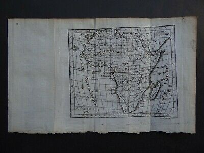 1760  EXPILLY Atlas map  AFRICA - AFRIQUE