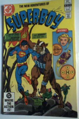 Superboy 32 DC COMIC NM- GLOSSY SUPERMAN DIAL H Aug 1982 bronze age MORE LISTED