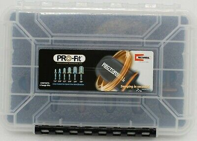 Rectorseal Pro-Fit Precision Swaging Kit 87011 Formwerkzeug 6 Inserts New