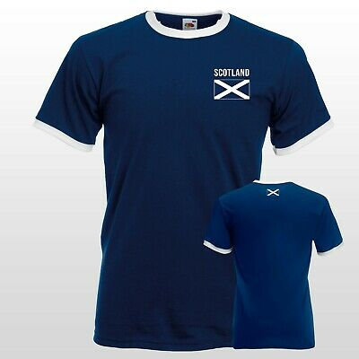Scotland Retro Football T-shirt World Cup 1978 Top Nostalgic men Women Shirt