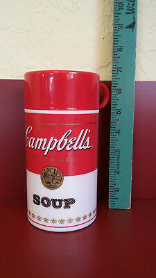 Vintage Campbell's Soup Thermos Can-Tainer, Copyright 1998, 11.5 oz.