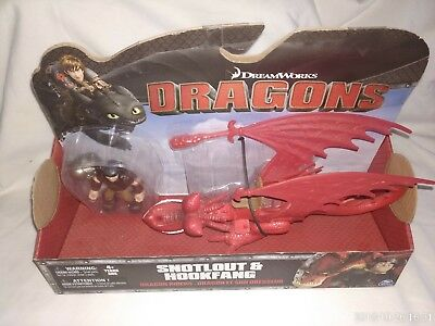 How To Train Your Dragon Snotlout & Hookfang