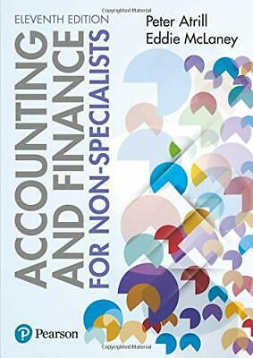 Accounting & Finance for Non-Specialists - 11th Edition 2018 Peter Atril McLaney