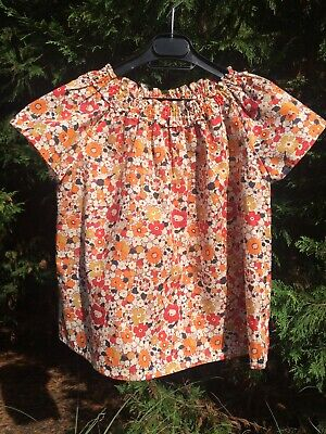 Bonpoint Liberty Print Blouse Summer 2018 Collection 8 years