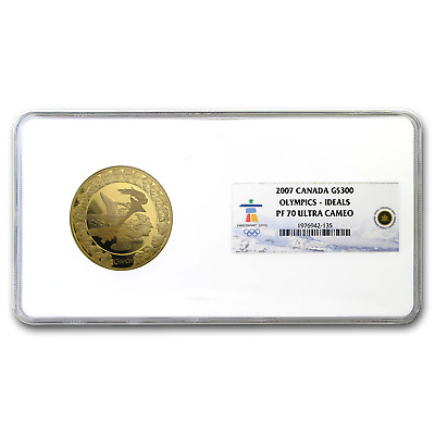 2007 Canada Gold $300 Olympic Ideals PF-70 NGC - SKU#187604