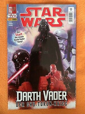 Star Wars Nr. 19: Darth Vader - Shu-Torun-Krieg. Panini / Disney.