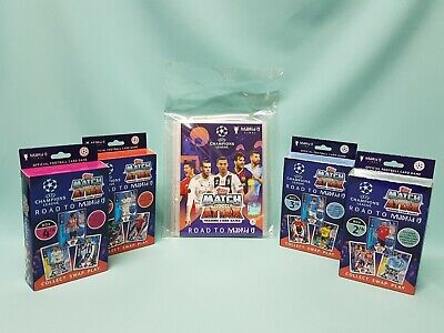 Topps Match Attax Champions League Road to Madrid 19 binder + alle 4 Deck Boxen