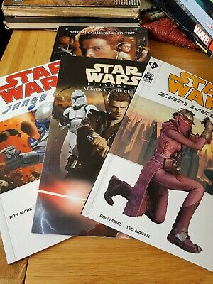 Star Wars Attack Of The Clones Graphic Novel Collection