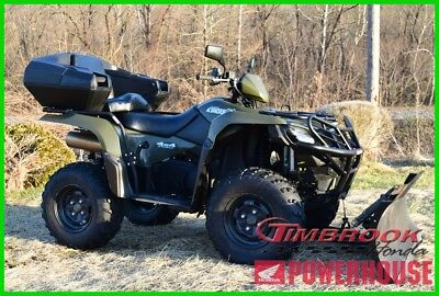 2017 Suzuki Kingquad 750Axi Tons of Extras Must See Ready for Snow or play