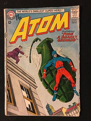 Vintage DC Comics The Atom (1964) Lot Issues 10,11,12,13,32,33 ++++!!!