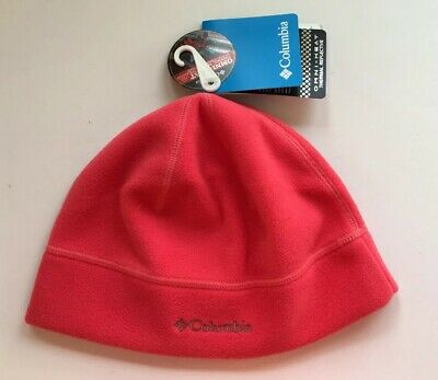 48b755bd2f8 Columbia Omni-Heat Thermal Reflective Hat Beanie Unisex Size S M Coral NWT
