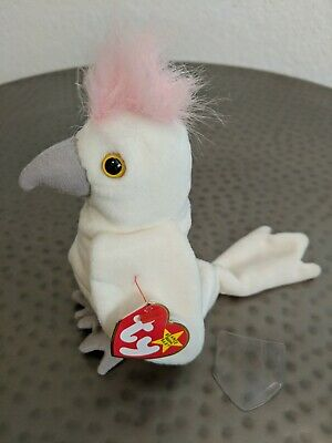 222b77b2b93 EXTREMELY RARE TY Beanie Baby Kuku w Many Tag ERRORS Very Limited Retired