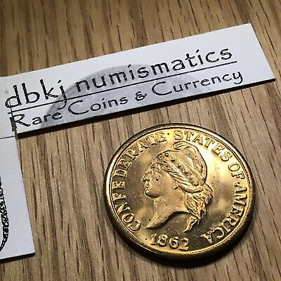 1862 Confederate States of America $20 Dollars Coin - Fantasy Restrike