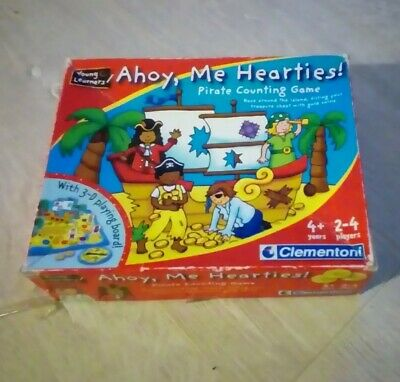 Ahoy, Me Hearties! Pirate Counting Game - young learners  by Clementoni 2006