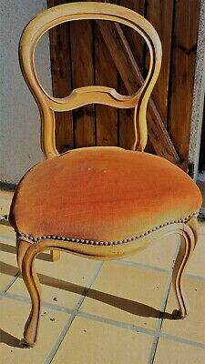 Chaise Style Louis Philippe