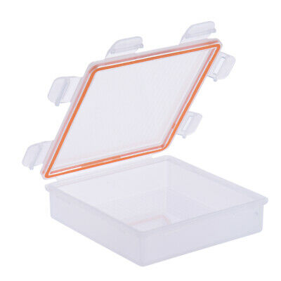 Transparent Battery Storage Box for 18650/CR123A Battery IP66 PP Material Z0Z8