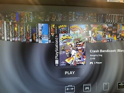 Sony playstation classic USB Stick +100 games -see list & choose your own to add
