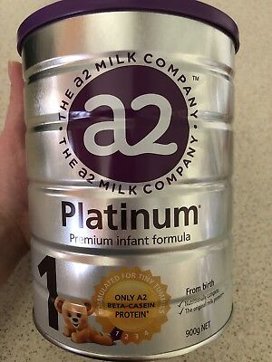 A2 Platinum Premium Infant Formula Stage 1 - New Unopened - Use By: 13/06/2020