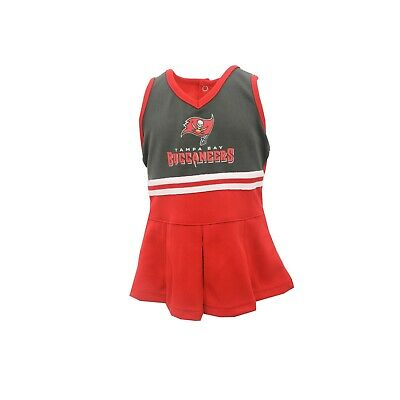 ab6025c48 Tampa Bay Buccaneers NFL Infant   Toddler Size Cheerleader Outfit with  Bottoms