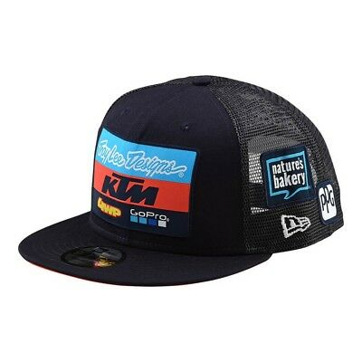 c1de2e81755 TROY LEE DESIGNS 2018 Team KTM 9Fifty GoPro Snapback Hat OSFA - Navy ...