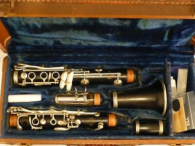 VINTAGE 1891 Buffet Crampon Professional HIGH PITCH Clarinet France Refurbished