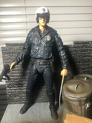 Terminator Figura Action T-1000 MOTORCYCLE COP Ultimate Neca JUDGMENT DAY Figure