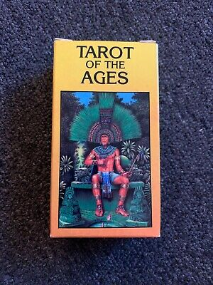 Vintage 1988 Tarot Of The Ages Card Deck Us Games Belgium Esoteric Occult Magick