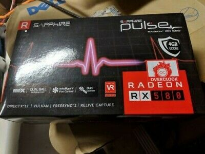 SAPPHIRE RX 580 4GB Pulse Graphics Card | VR READY!  In original packaging!