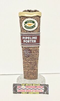 """Kona Brewing Co Pipeline Porter Beer Tap Handle 6.5"""" Tall - Brand New In Box!"""