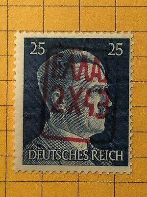 GERMANY IONIAN ZANTE 1943 WWII-GERMAN OCCUPATION 25 Pfg. MNH  Priv. Issue