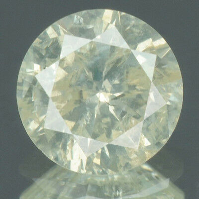 0.64 cts. CERTIFIED Round Brilliant White-M Color Loose Natural Diamond 10273