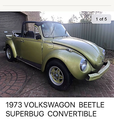 1973 Volkswagon beetle superbug convertible