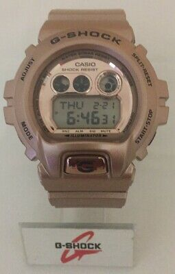 Casio Mens G Shock watch GDX6900GD-9 Gold  Color Band Bronze color dial face