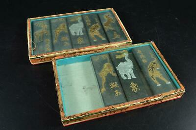 G8313: Chinese INK Beast Poetry sculpture Calligraphy tool.