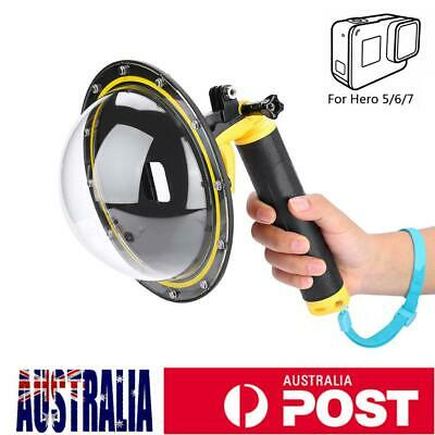 TELESIN Diving Underwater Dome Port Photography Lens Cover for GoPro Hero 5 6 7