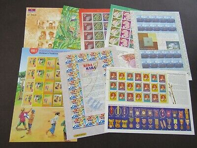 Malaysia - Fine Collection Of 1999/2000 Complete Sheetlets - Fine Mnh
