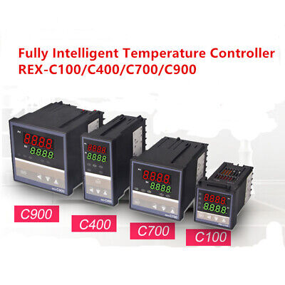 REX-C100/C400/C700/C900 Digital Alarm PID Temperature Controller AC110/220V 1PC