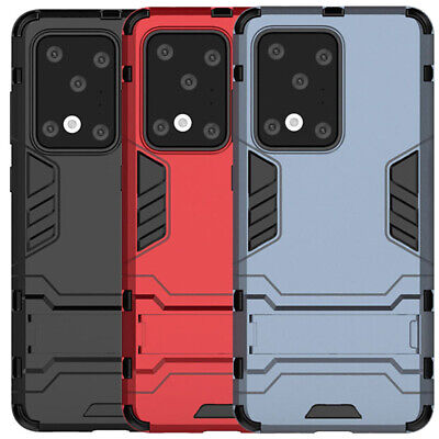 For Samsung Galaxy S10 Plus S10E S9 S8 S7 Shockproof Armor Stand Hard Case Cover