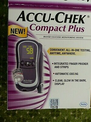Accu-Chek Compact Plus, Glucose Monitor, without consumables
