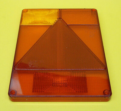 FREE UK Post - LH Replacement Lens for Radex 6800 Rear Trailer Lamp