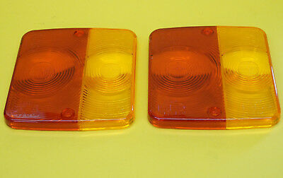 FREE UK Post -2  Radex Replacement Lens for 4 Function Rear Trailer Lamp