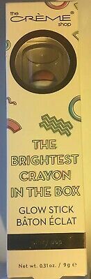 """The Crème Shop """"The Brightest Crayon in the Box"""" Glow Stick in Pinky Pop. NEW!"""