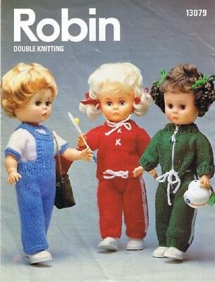 Dolls Knitting Pattern copy ~ Overalls ~ jumpsuits ~ Pants ~ Tops
