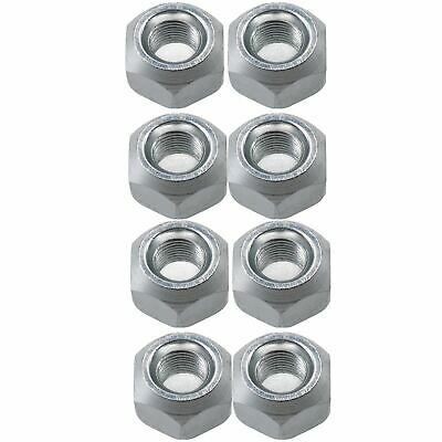 Pack of 8 M10 Conical Trailer Wheel Nuts for Suspension Hubs M10x1.25 Thread