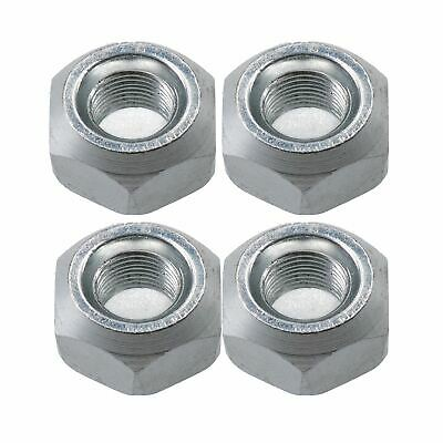 Pack of 4 M10 Conical Trailer Wheel Nuts for Suspension Hubs M10x1.25 Thread